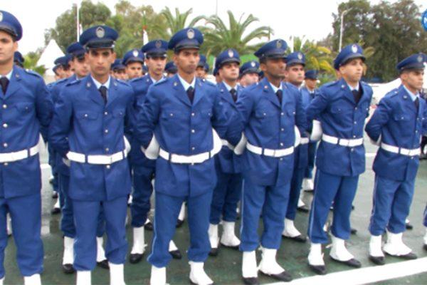 تخرج الدفعة الأولى لأعوان الشرطة بمدرسة الشرطة الدار البيضاء