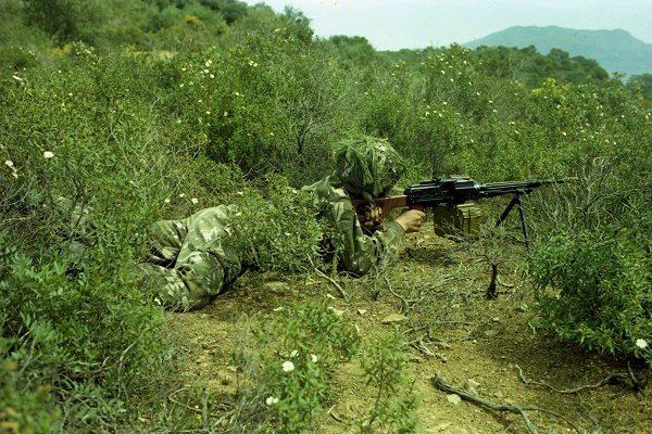 قوات الجيش تقضي على 05 إرهابيين بعين الدفلى
