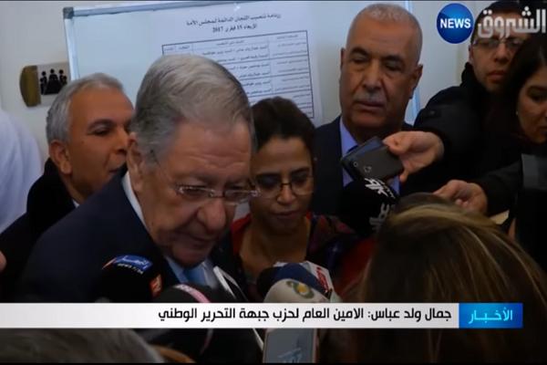 ولد عباس: ترشح الوزير الأول يختلف عن باقي الوزراء لأنه يمثل حكومة البلاد
