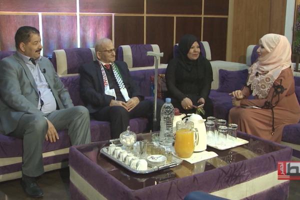 خط أحمر: الرئيس المدير العام لمجمع الشروق علي فضيل يكرم معلمه الفلسطيني