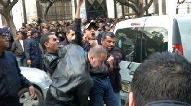 اعتقال محتجين ضد العهدة الرابعة أمام الجامعة المركزية بالعاصمة