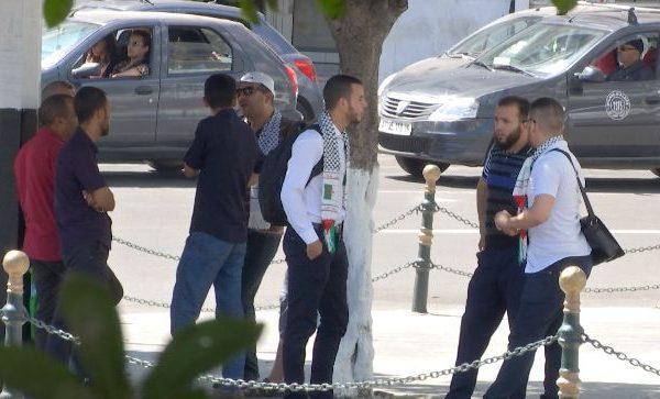 مصالح الأمن تمنع وقفة تضامنية مع المسجد الأقصى بالبريد المركزي
