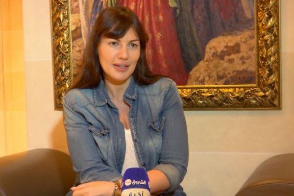 لقاء مع الفنانة اللبنانية ديرين حمزة
