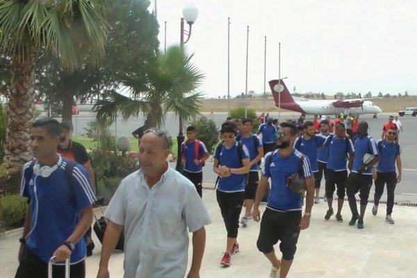 المنتخب الليبي يصل قسنطينة تحسبا لمواجهة الخضر