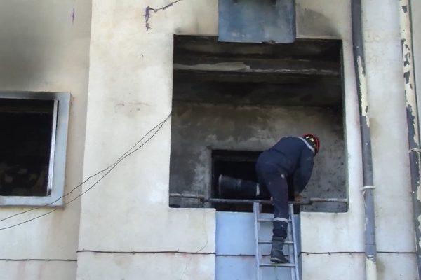 سيدي بلعباس: حريق بمسكن يخلف إصابة 3 أشخاص بحروق خطيرة و7 حالات اختناق