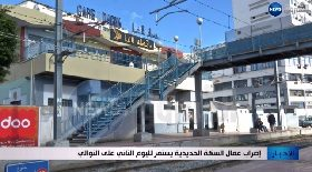 إضراب عمال السكة الحديدية يستمر لليوم الثاني على التوالي