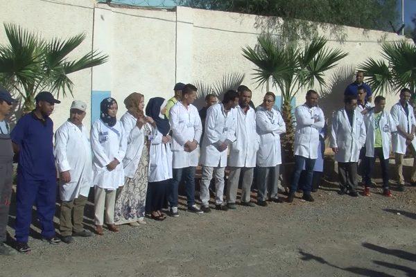 بشار: عمال الصيدلية المركزية يحتجون ضد قرار توقيف المدير ويطالبون بلجنة تحقيق