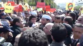 جاب الله وبن بيتور ومقري في الوقفة المقاطعة للرئاسيات