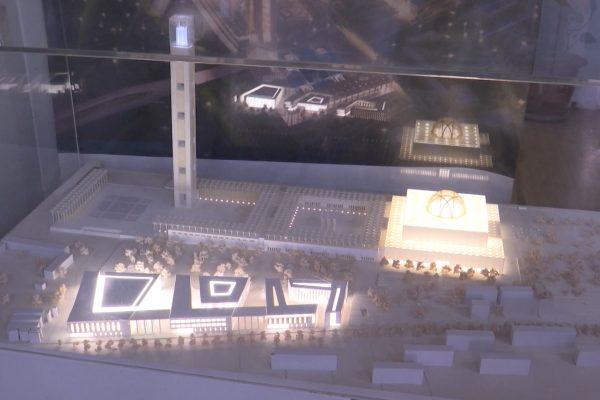 ديسمبر 2018 التسليم النهائي لمسجد الجزائر الأعظم