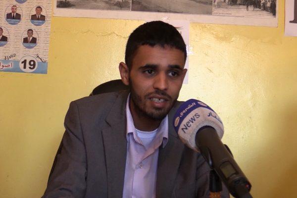 أحمد معاريف.. أصغر مترشح لمحليات 23 نوفمبر بتيارت