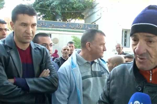 العاصمة: سكان الأقبية بحي بومعزة 2 يحتجون للمطالبة بترحيلهم