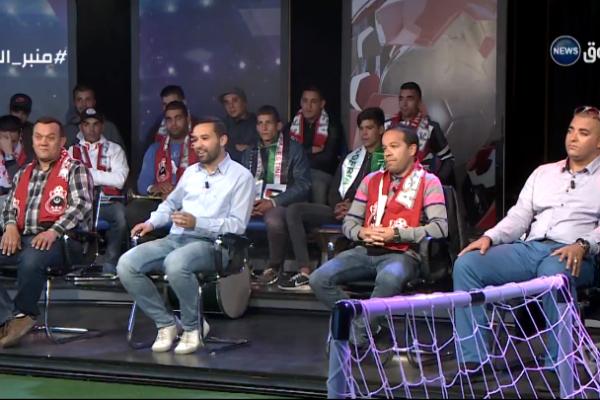أنصار أولمبي الشلف ضيوف  برنامج منبر الجماهير
