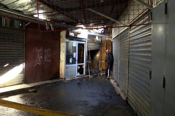 العاصمة: حريق مهول يلتهم 23 محلا بسوق عين النعجة