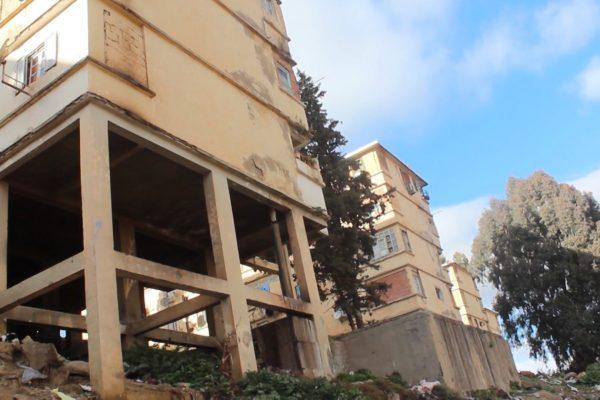 البويرة: عمارات حي 17 أكتوبر بسور الغزلان مهددة بالانهيار وسكانها يستنجدون