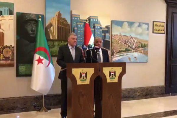 سوناطراك ستقوم رسميا بتطوير حقول غازية ونفطية في العراق