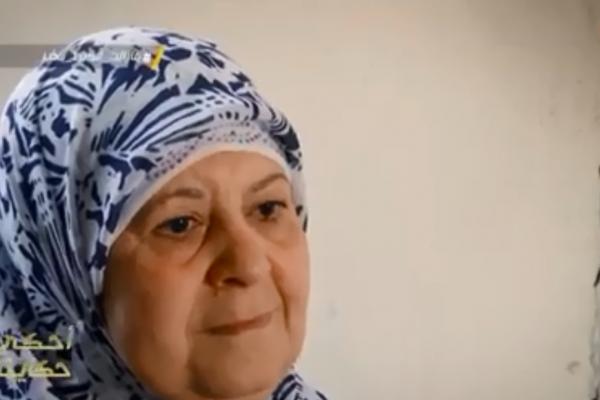 الحاجة زبيدة تتبرع بمنحة إبنتيها المعاقتين لزوجة عمي العيد