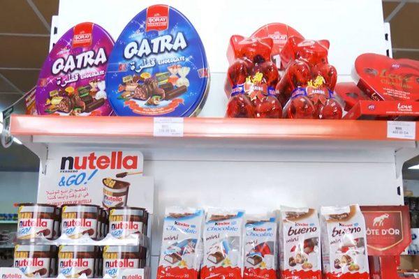 27 مليون دولار واردات الجبن الخام 22.3 مليون دولار واردات الشيكولاتة والحليب