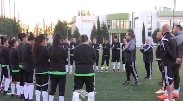 المنتخب الوطني النسوي لكرة القدم في تربص تحضيري
