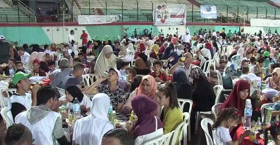 البليدة: مدينة الورود تحتضن أكبر مائدة إفطار لفائدة اليتامى والأرامل