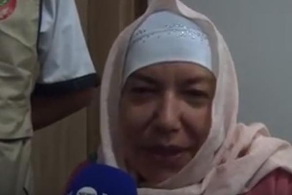 وهران : إيطالية تعتنق الاسلام بالمسجد القطب في ليلة القدر