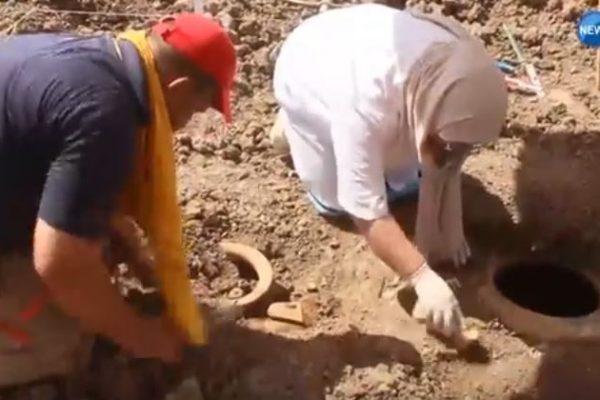 فلاح من الشلف يعثر على ثلاث جرّات تعود للحقبة الرومانية
