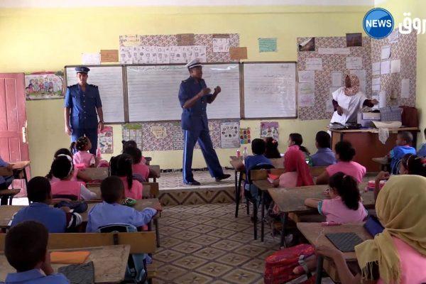 أدرار: حملة تحسيسية اتوعية تلاميذ المدارس حول السلامة المرورية