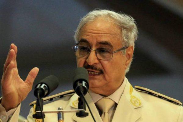"""""""حركة المستقبل الليبي"""" تردّ على تهديدات حفتر"""