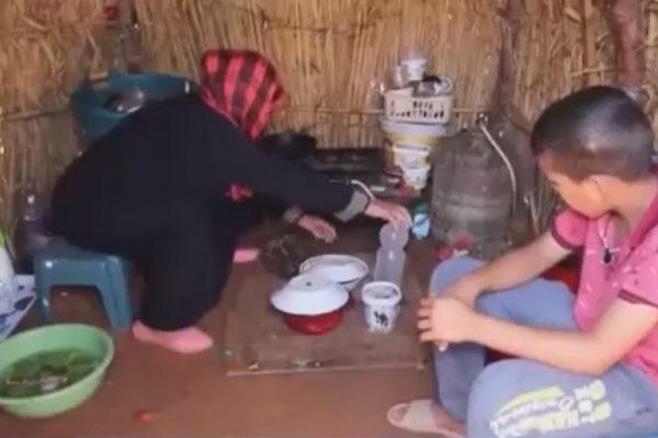 محسنون يبادرون لبناء سكن لامرأة تعيش في كوخ منذ أزيد من 5 سنوات