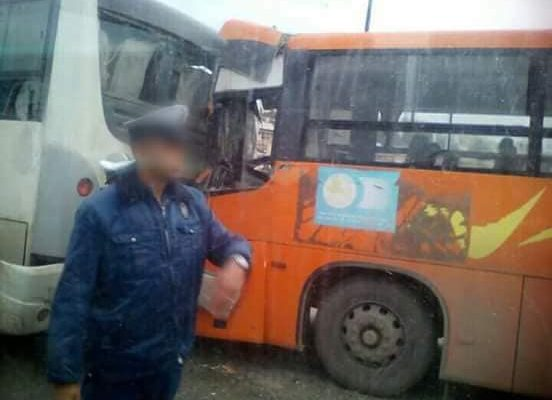 6 جرحى في حادث اصطدام حافلتي نقل الطلبة بشاحنة في سطيف