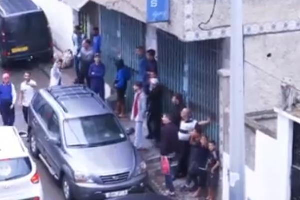 العاصمة السلطات المحلية ببولوغين تطرد عائلة من مسكنها