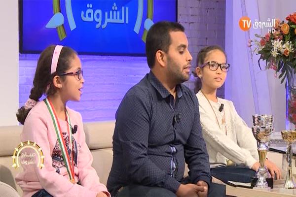 مهارات الحساب الذهني.. شاهد كيف أبهرت هاتين الطفلتين لطفي بذكائهما!