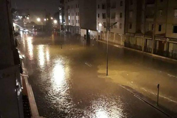 15 جريحا خلال 24 ساعة الأخيرة و تسربات لمياه الامطار داخل البيوت