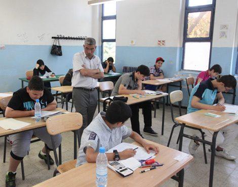 انطلاق امتحانات الفصل الأول بالنسبة للطورين المتوسط والابتدائي اليوم