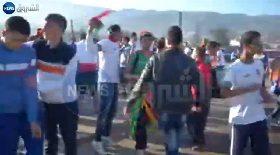 الأجواء بملعب مصطفى تشاكر قبل مباراة المولودية والشبيبة