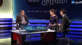 سليمان بخليلي في حفل إطلاق قناة الشروق نيوز