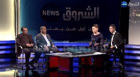 رشيد ولد بوسيافة ومحمد يعقوبي في حفل إطلاق قناة الشروق نيوز
