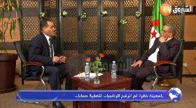 ياسمينة خضرا: لم أترشح للرئاسيات لتصفية حسابات