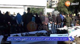 """الجزائر العاصمة… القبض على عصابة """"الجن"""" و""""الشاقور"""" المختصة في السطو والسرقة بالدويرة"""
