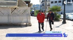 الجزائر العاصمة… شباب معوق تحدوا إعاقاتهم