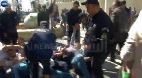 اعتقالات الشرطة لناشطين في وقفة لعائلات المفقودين وحركة بركات وإعلاميين بساحة حرية التعبير