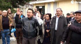 """العاصمة: احتجاجات أساتذة الجامعة """"مناهضة للعهدة الرابعة"""" أمام جامعة بوزريعة"""