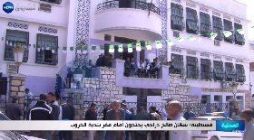 قسنطينة / سكان صالح دراجي يحتجون أمام مقر بلدية الخروب