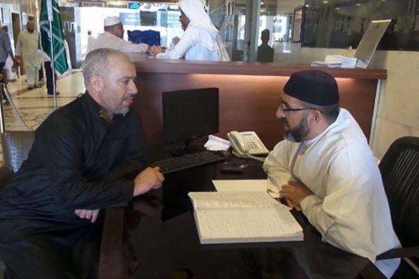 إقبال الحجاج على لجان الإفتاء الجزائرية بالبقاع المقدسة