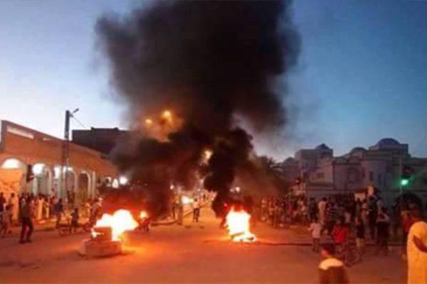 احتجاجات في وادي سوف على الزيادات في فواتير الكهرباء