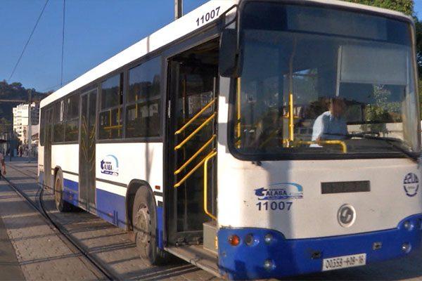 حافلات تسير على السّكك الحديدية بالعاصمة!!؟