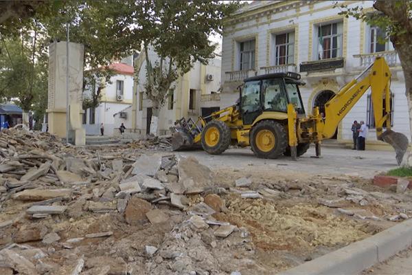 العاصمة تستنزف ميزانيتها قبل نهاية السنة في عمليات تجديد الأرصفة