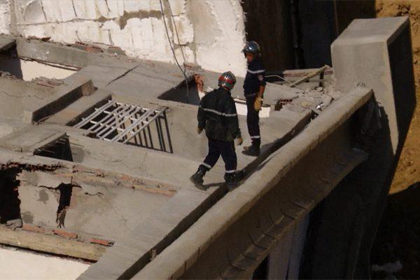 العاصمة: إنهيار مبنى في طور الانجاز بالعاشور دون تسجيل خسائر بشرية