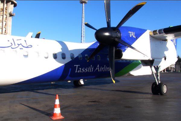 طاسيلي للطيران تفتح خطًا جويًا داخليًا جديدًا بين العاصمة وتيارت