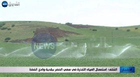 الشلف /  إستعمال المياه القذرة في سقي الخضر ببلدية وادي الفضة